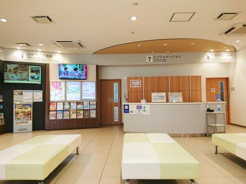 美東サービスエリア(上り線)インフォメーション