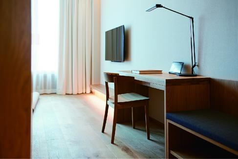 MUJIホテル銀座、客室一例