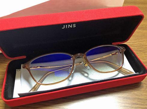 ジンズの好きなフレームで、オリジナルのPCメガネを作ってみた