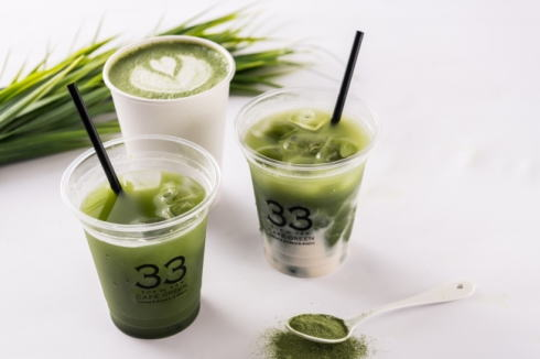 移動式青汁カフェ!33 CAFE グリーン号 提供ドリンク