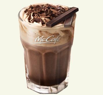 マクドナルドのプレミアムホットチョコレート