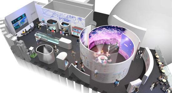 気象庁の体験施設「気象科学館」東京・虎ノ門でリニューアルオープン