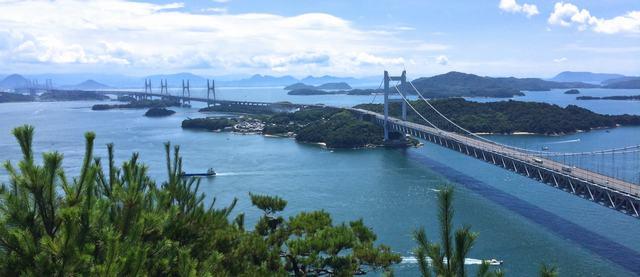 瀬戸大橋を見渡せる展望スポット