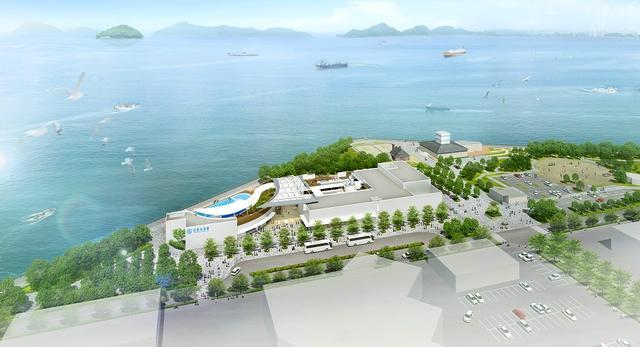 四国水族館が2020年3月 香川県うたづ臨海公園内にオープン