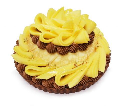 カフェコムサ「世界のマンゴーを訪ねて」ゴールデンマンゴーのケーキ