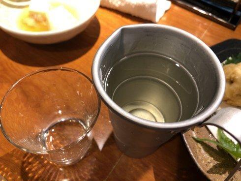 金沢・おでん居酒屋 三幸 お酒がすすむ