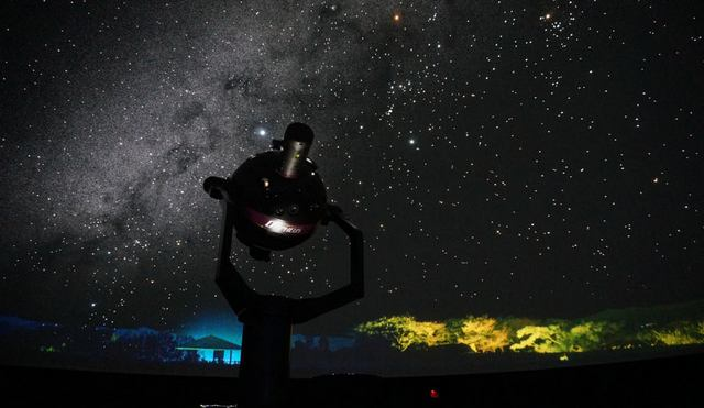 米子市児童文化センター プラネタリウム、美しい星空に「名探偵コナン」投影も