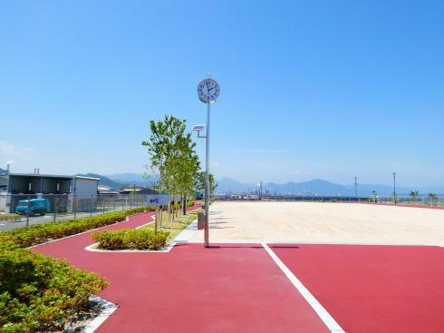岩国市 日の出公園の多目的広場