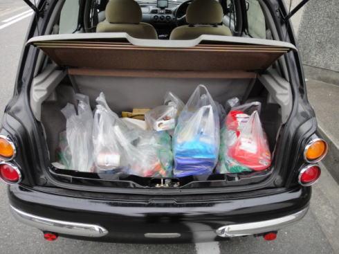 お買い物袋がたくさん必要な時もある