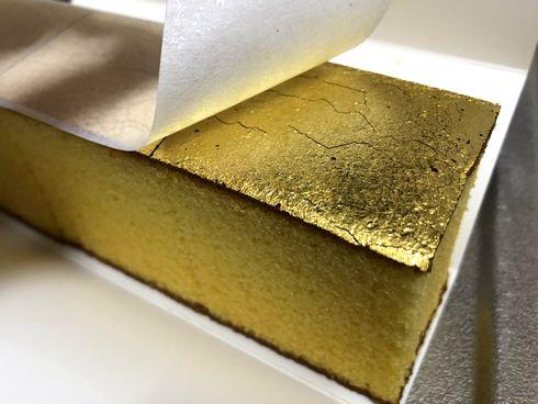 長崎県には「金のカステラ」