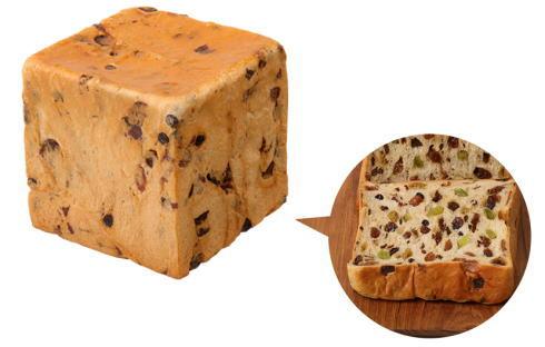 本多「極ぶどう食パン」 見本画像