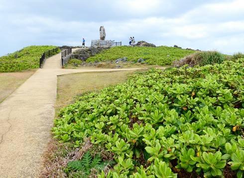 沖縄・辺戸岬を散策