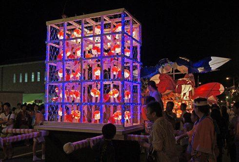 金魚ねぶた・金魚ちょうちん踊りがある「本祭り」
