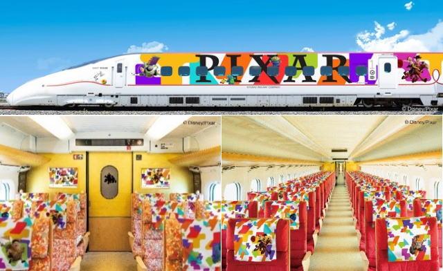 ピクサー×JR九州キャンペーン、ラッピング新幹線・フォトスポット・スタンプラリーも!