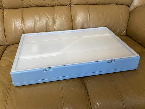 宅配ボックスとして使わないときは、折り畳める