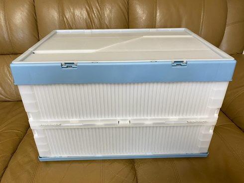 玄関先が狭くても「置き配」の商品を目隠しできる宅配ボックスを
