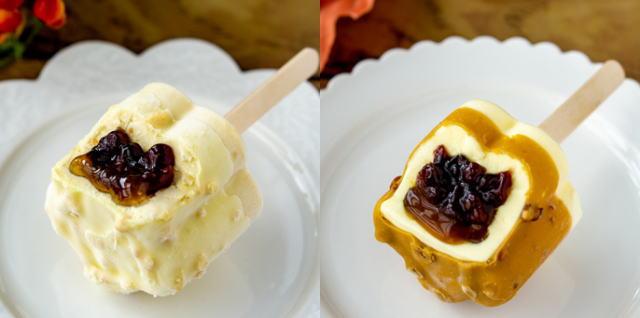 あいすまんじゅう Dessert モンブラン・バターキャラメル