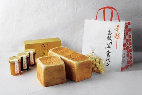 乃が美 年越し生食パン、年末のプチ贅沢