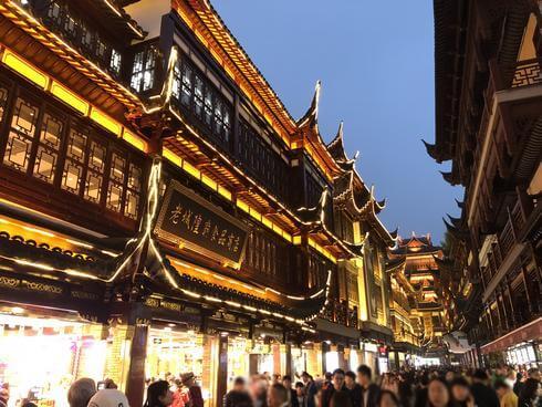 上海の「豫園商城」は古き良き中国を感じられる観光スポット、買い物や街歩きに