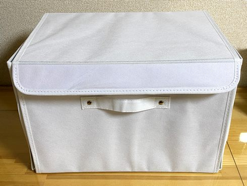 カラーボックス横置きにピッタリなスリコの収納ボックス