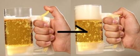 ジョッキアワー、ビールの泡を復活できる!タカラトミーから