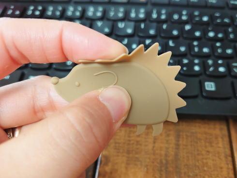 シリコンキーボードクリーナー(ハリネズミ)画像2