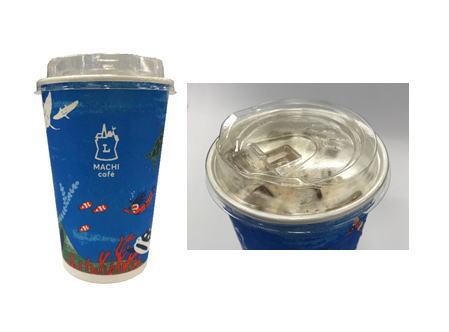 ローソンマチカフェ プラスチック削減