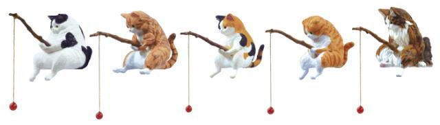 猫カプセルトイ「釣り日和」シリーズ
