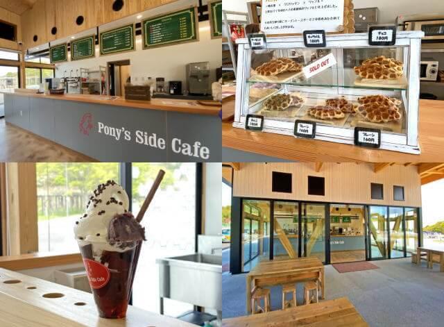 ポニーサイドカフェ、蜂ヶ峯総合公園 Bee+(ビープラス)交流棟