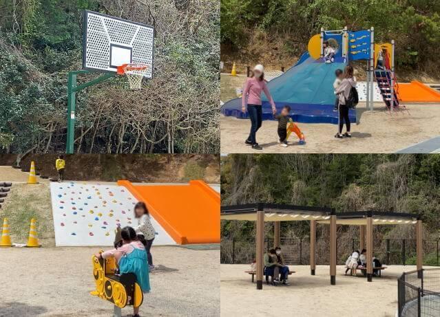 蜂ヶ峯総合公園 ビープラス こども広場の遊具