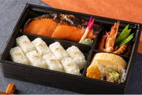 築地 岩田 銀鮭のお弁当