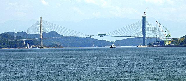 愛媛・岩城橋、まもなく完成「ゆめしま海道」全線開通へ