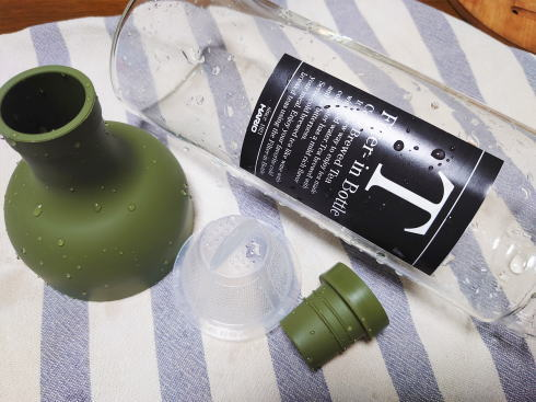 ハリオ フィルターインボトル 使用中イメージ3