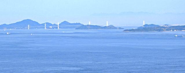岡村島 ナガタニ展望台からの眺め